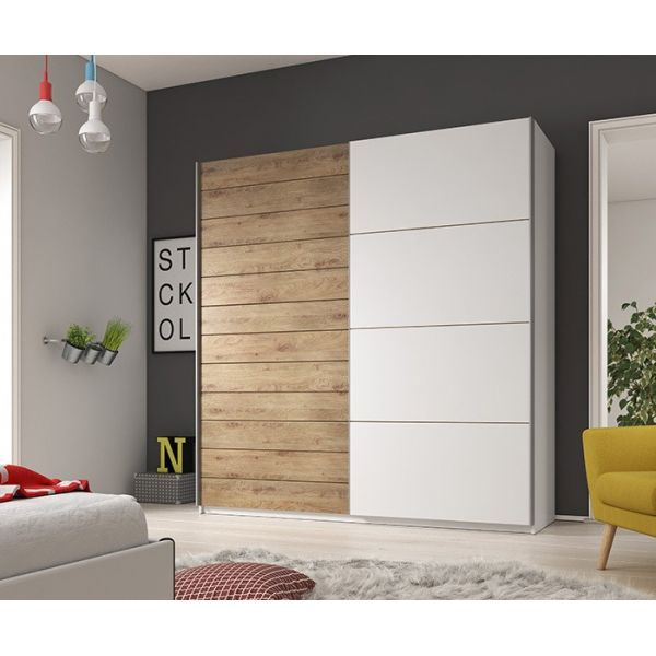 ARMOIRE 220 COULISSANTE DESIGN GALAXY