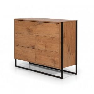 COMMODE 6 TIROIRS DESIGN LOFT