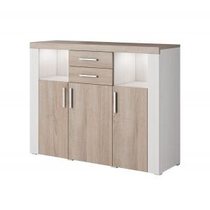 COMMODE 3 PORTES DESIGN SAGRES
