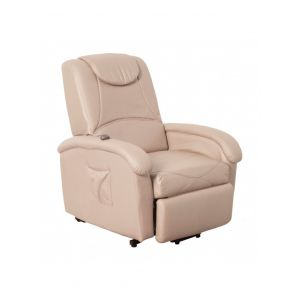 FAUTEUIL RELAX MOTORISE SABLE