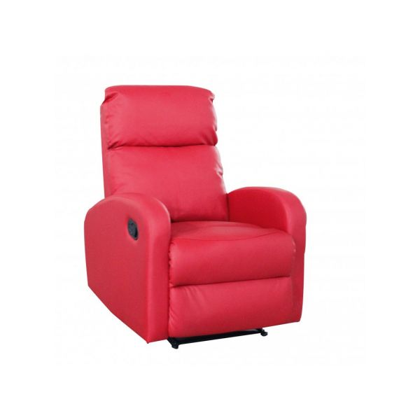 FAUTEUIL RELAX MANUEL ROSSO CONFORT