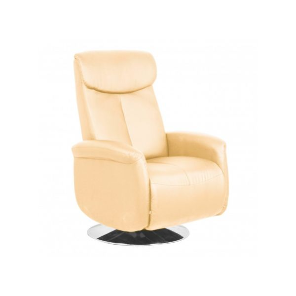 FAUTEUIL RELAX INCLINABLE SABLE CONFORT