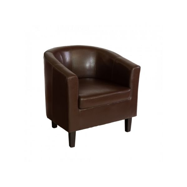 FAUTEUIL CLUB CONFORT CHOCOLAT