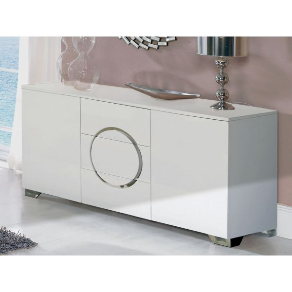 BUFFET EFFECT 743  ULTRA DESIGN BLANC GLOSS