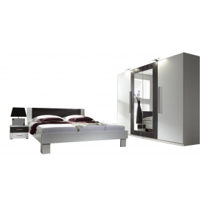 CHAMBRE VERO WHITE/BLACK 4 ELEMENTS