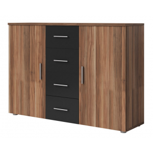 commode ref vero walnut black