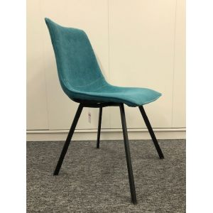 CHAISE CONCHA TURQUOISE